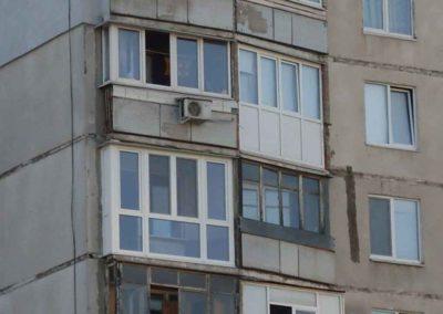 Установили балконное остекление